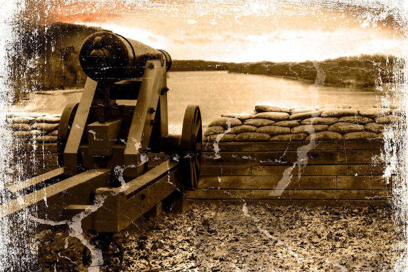 Fort Donelson Battery at Cumberland River