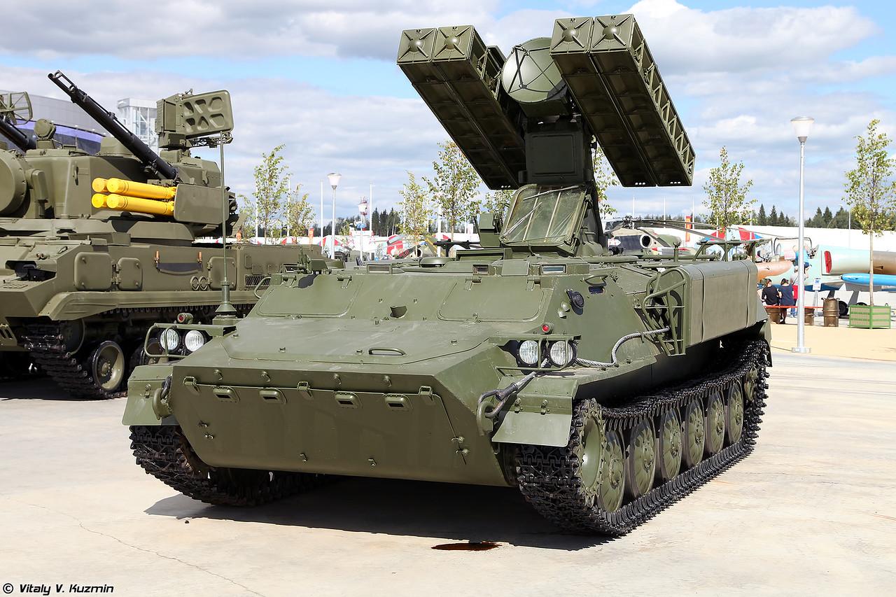 Боевая машина ЗРК 9К35М3 Стрела-10М3 (9K35M3 Strela-10M3)