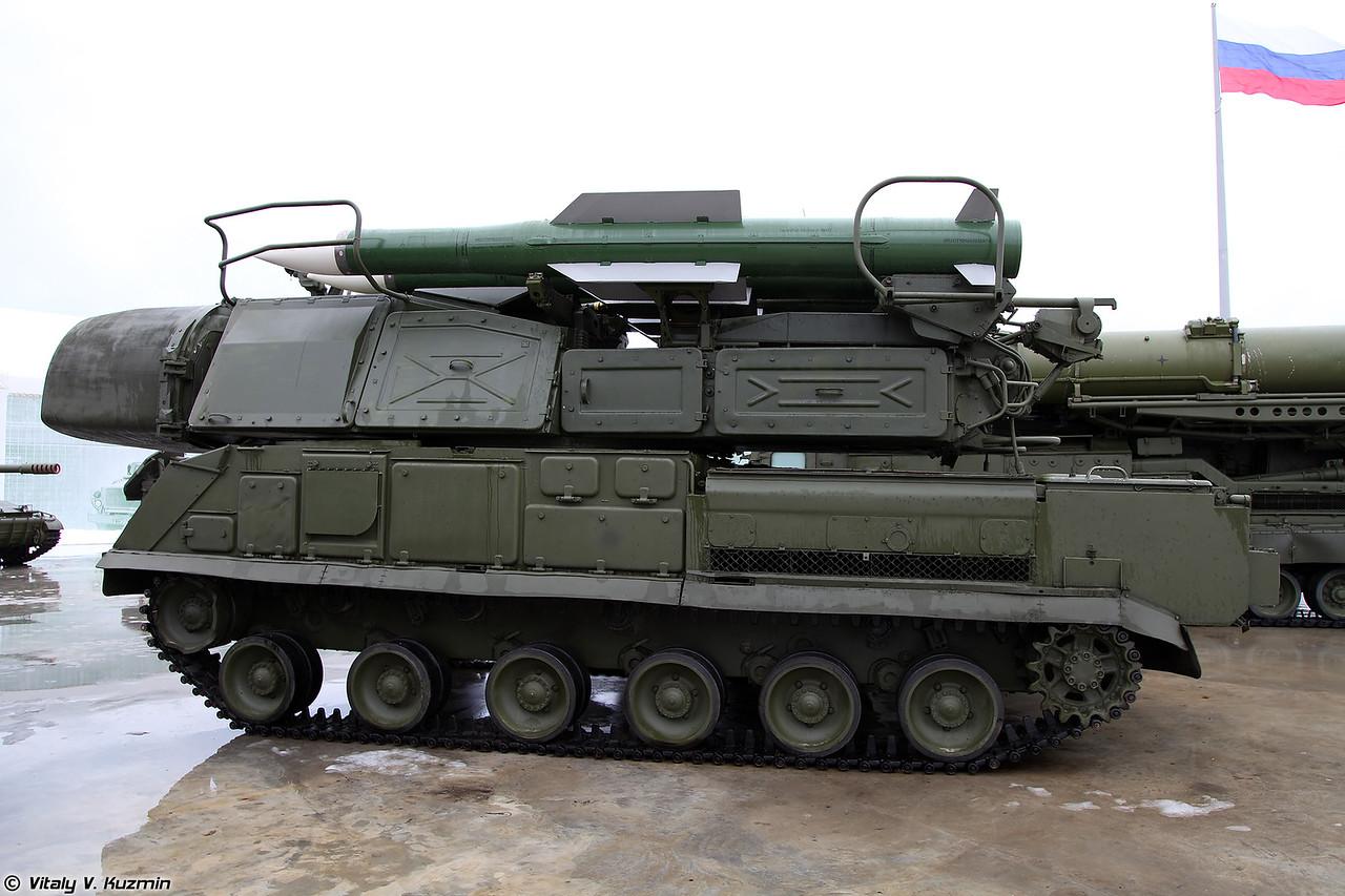 Самоходная огневая установка 9А310М1-2 с ракетами 9М317 из состава ЗРК Бук-М1-2 (9A310M1-2 TELAR from Buk-M1-2 system)