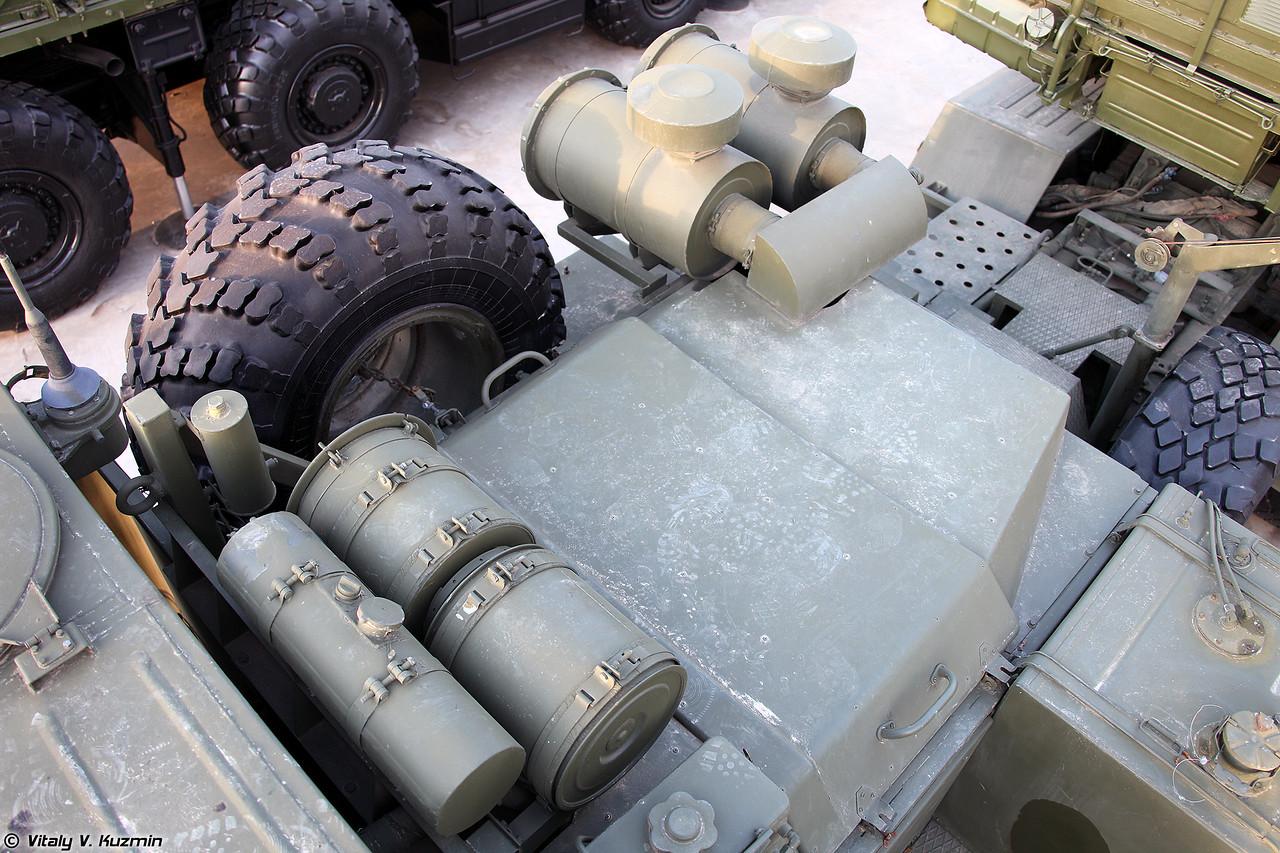 Пусковая установка 5П85ТМ ЗРC С-400 (5P85TM TEL for S-400 missile system)