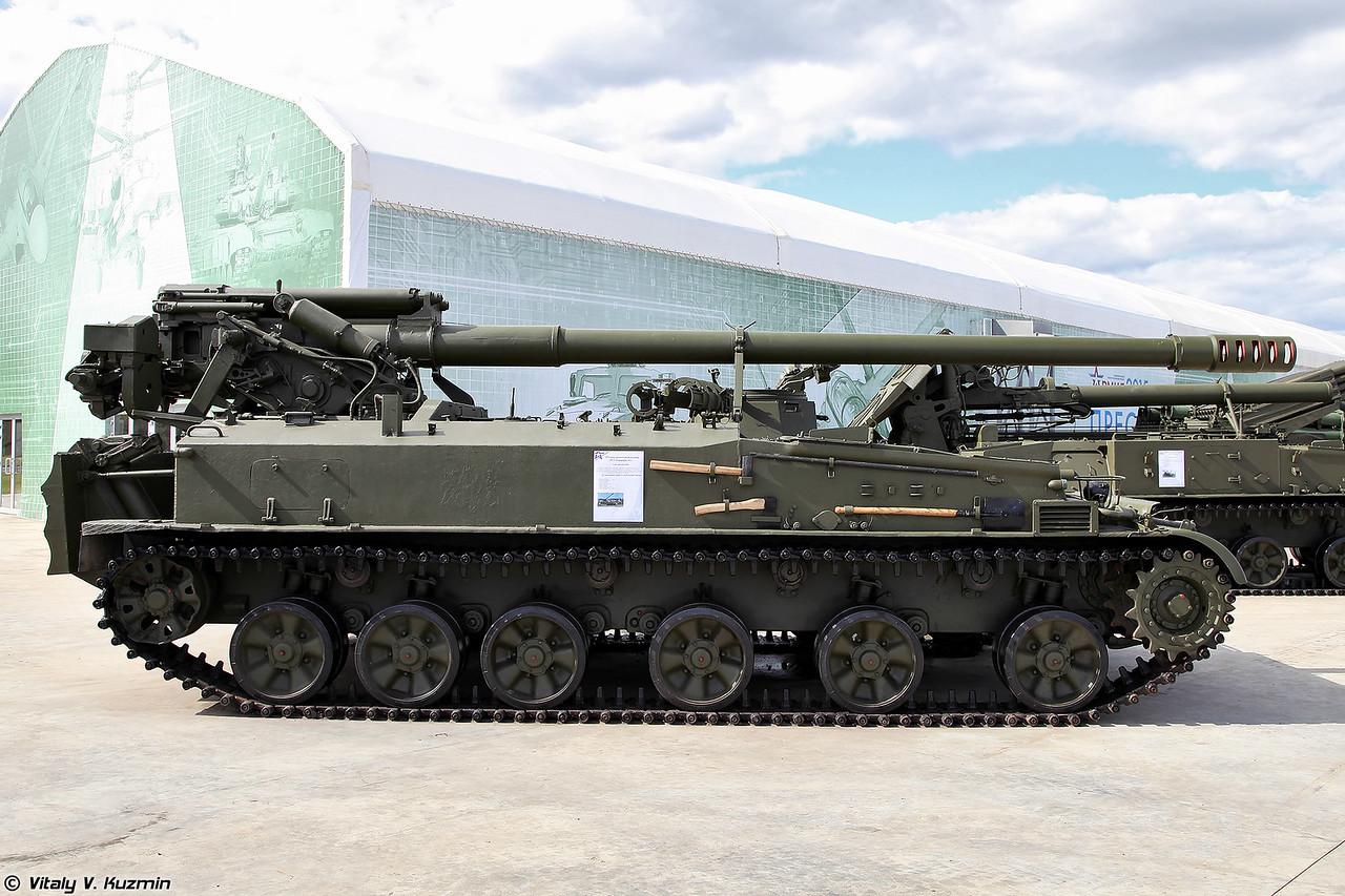 152-мм самоходная пушка 2С5 Гиацинт-С (152mm self-propelled gun 2S5 Giatsint-S)