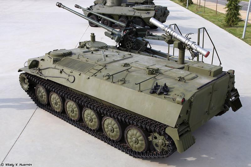 Боевая машина 9П149 СПТРК 9К114 Штурм-С (9P149 launching vehicle of 9K114 Shturm-S ATGM system)