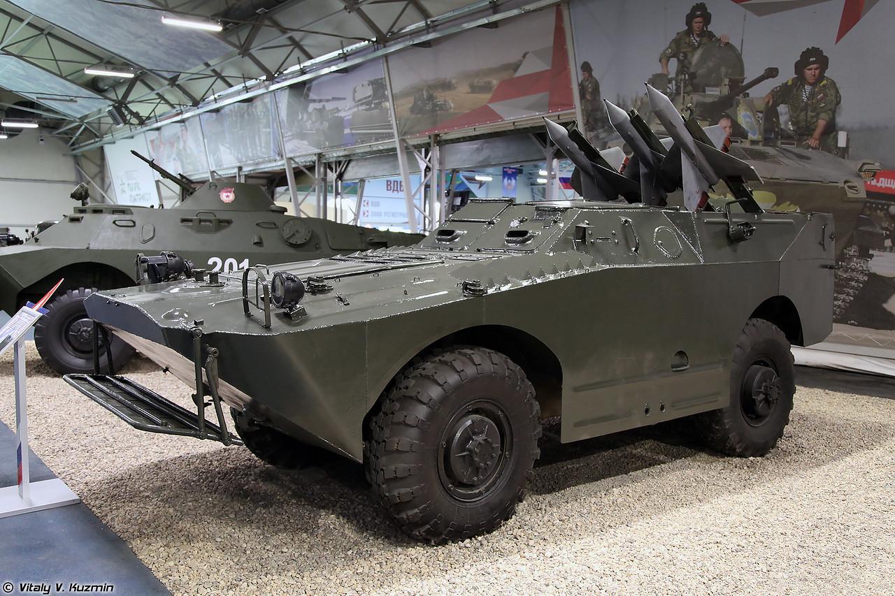 Боевая машина 2П27 комплекса 2К16 Шмель на базе БРДМ-1 (2P27 combat vehicle of 2K16 Shmel ATGM on BRDM-1 base)