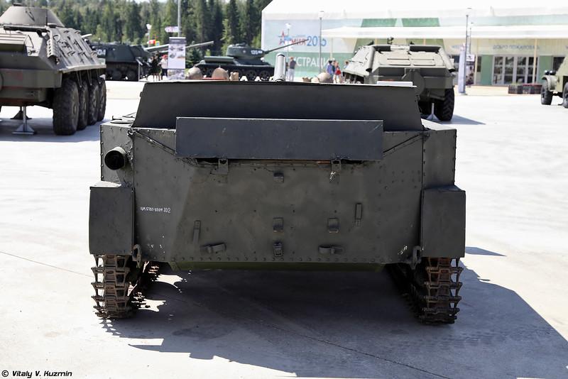 Авиадесантная самоходная артиллерийская установка АСУ-57 (ASU-57 self-propelled gun)