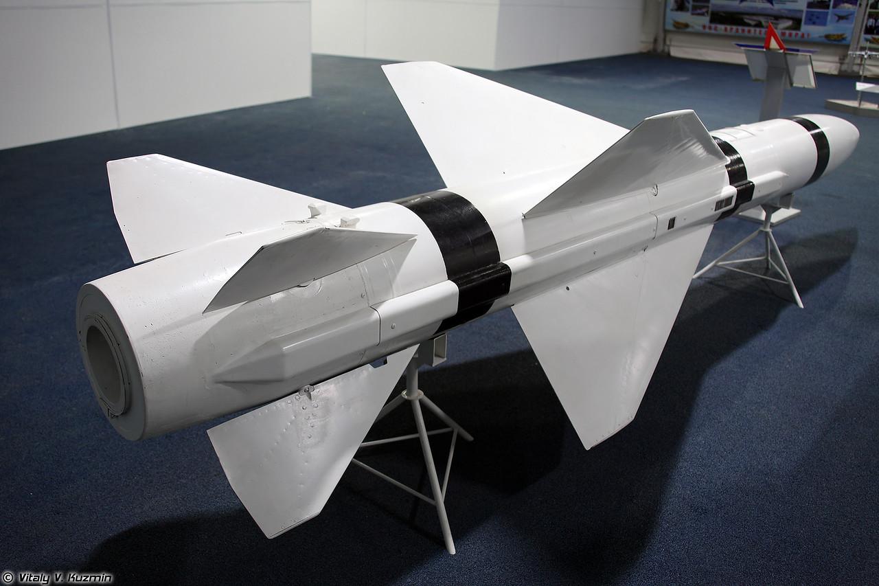 Авиационная управляемая ракета Х-58У (Kh-58U anti-radiation missile)