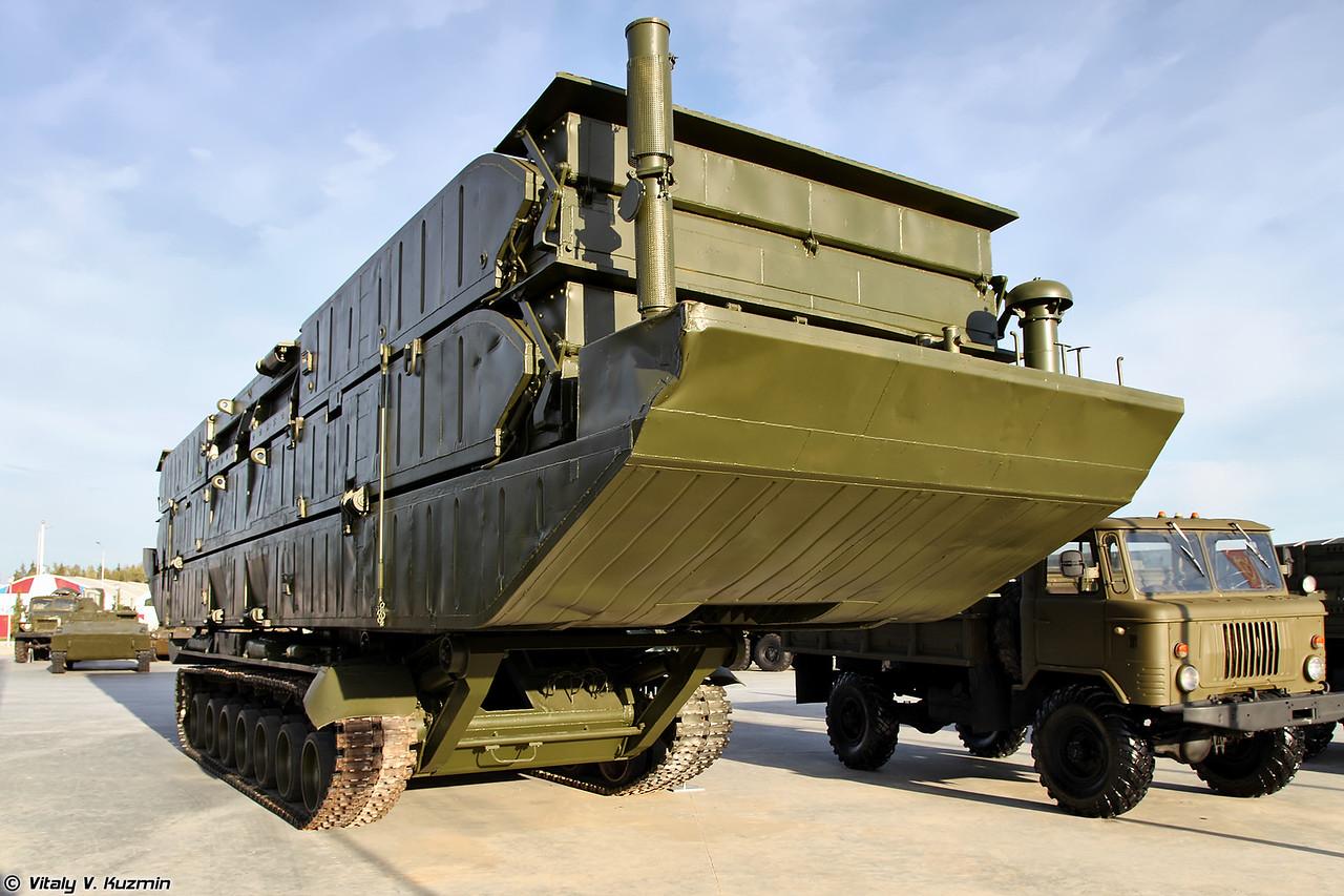Переправочно-десантный паром ПДП изделие 561П (PDP item 561P amphibious bridging vehicle)