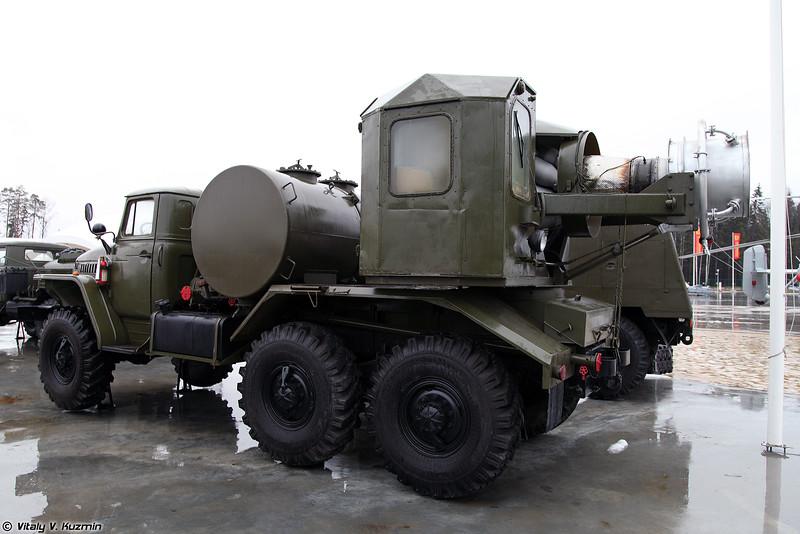 Тепловая машина специальной обработки ТМС-65 (TMS-65 decontamination vehicle)