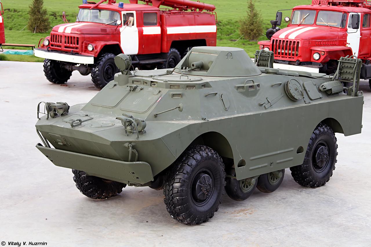 Машина радиационной и химической разведки БРДМ-2РХ (BRDM-2RKh NBC reconnaissance vehicle)