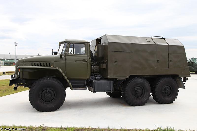 Машина дымовая ТДА-2М (TDA-2M smoke vehicle)
