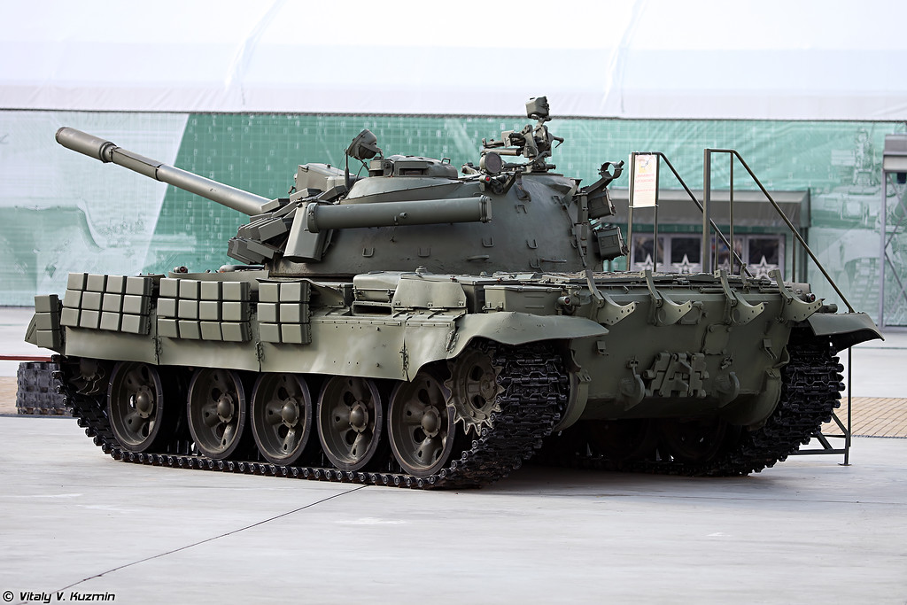 Еще один вариант Т-55АМВ (One more version of T-55AMV)