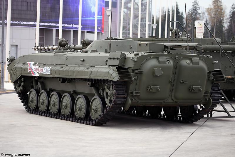 Еще одна БМП-1КШ в экпозиции (Another one BMP-1KSh)