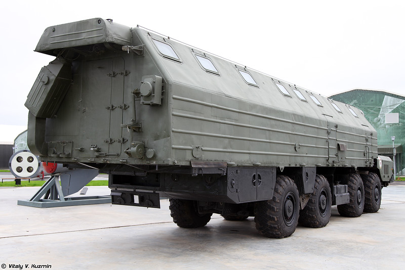 Машина-столовая агрегат 15Т117 (15T117 mobile canteen for ICBM systems)