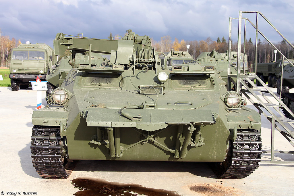 Машина технической помощи МТП-А6 (Technical assistance vehicle MTP-A6)