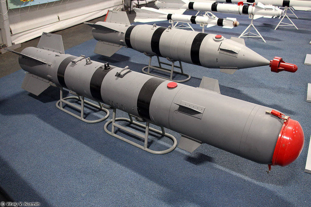 Корректируемая авиационная бомба КАБ-500Кр (KAB-500Kr aerial bomb)