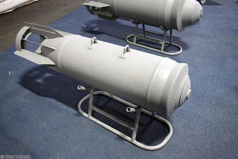 Осколочно-фугасная авиабомба ОФАБ-250-270 (OFAB-250-270 aerial bomb)