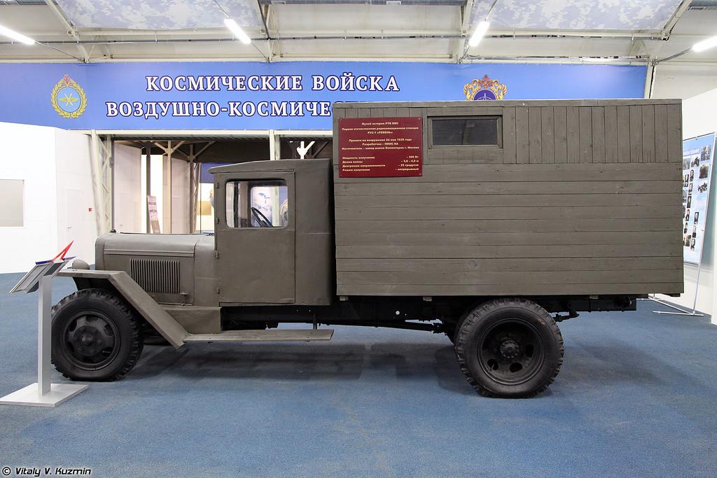 Первый советский серийный радиолокатор РУС-1 Ревень (First soviet serial radar RUS-1 Reven')
