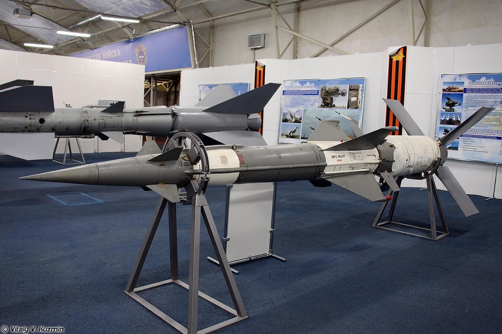 ЗУР 5В27Д ЗРК С-125М (5V27D SAM S-125M system)