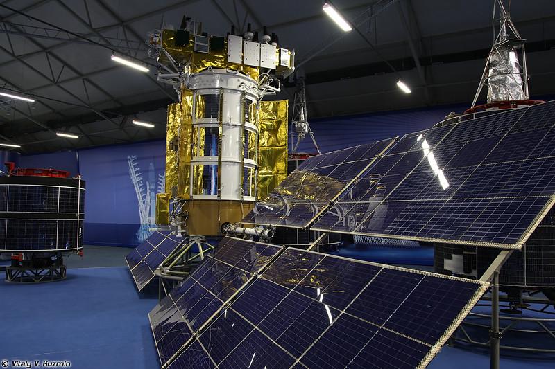 Космический аппарат 11Ф654М Глонасс-М (11F654M Glonass-M spacecraft)