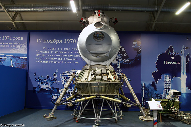 Лунный посадочный модуль 11Ф94 комплекса Н-1-Л3 (Lunar module 11F94 of N-1-L3 lunar spacecraft)