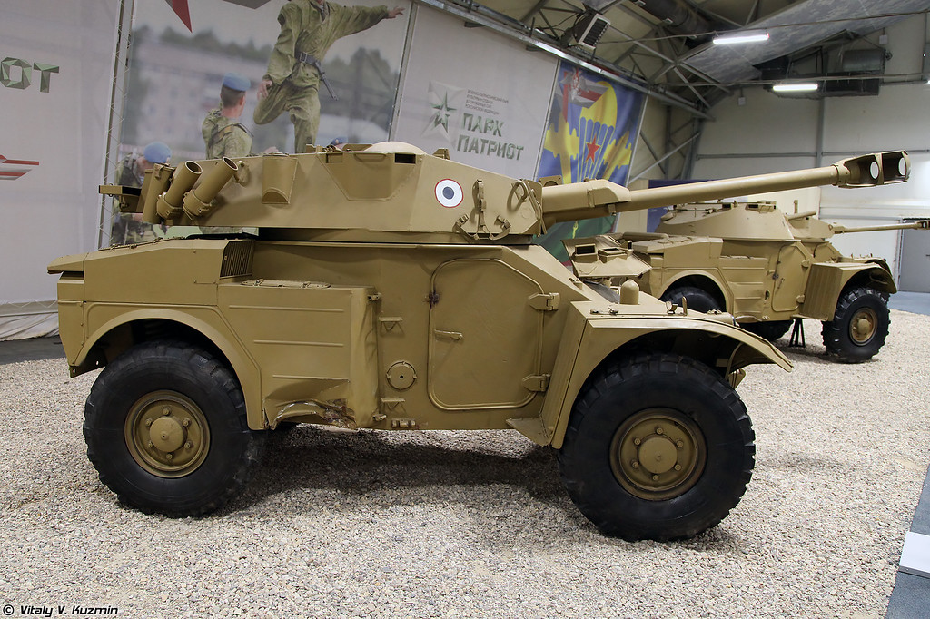 Panhard AML-245C с башней H-90 (Panhard AML-245C with H-90 turret)
