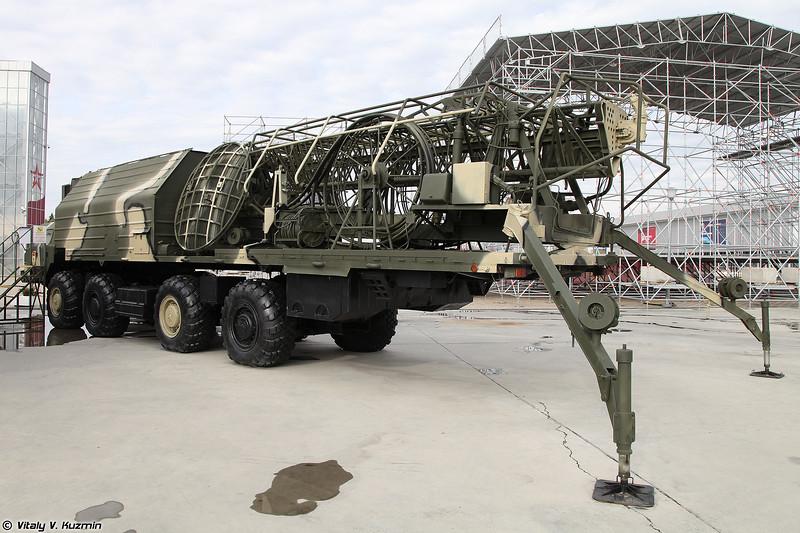 Станция тропосферной связи 15В75 (15V75 signal vehicle for Topol ICBM)