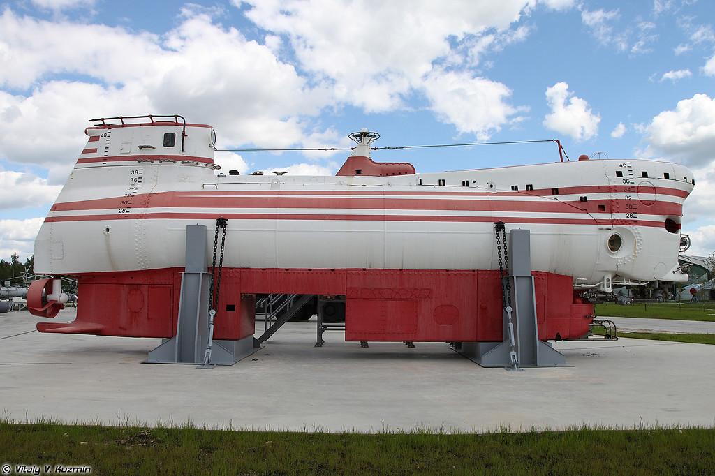 Глубоководный аппарат АС-27 пр.1832 Поиск-2 (AS-27 project 1832 Poisk-2 deep-diving manned submersible)