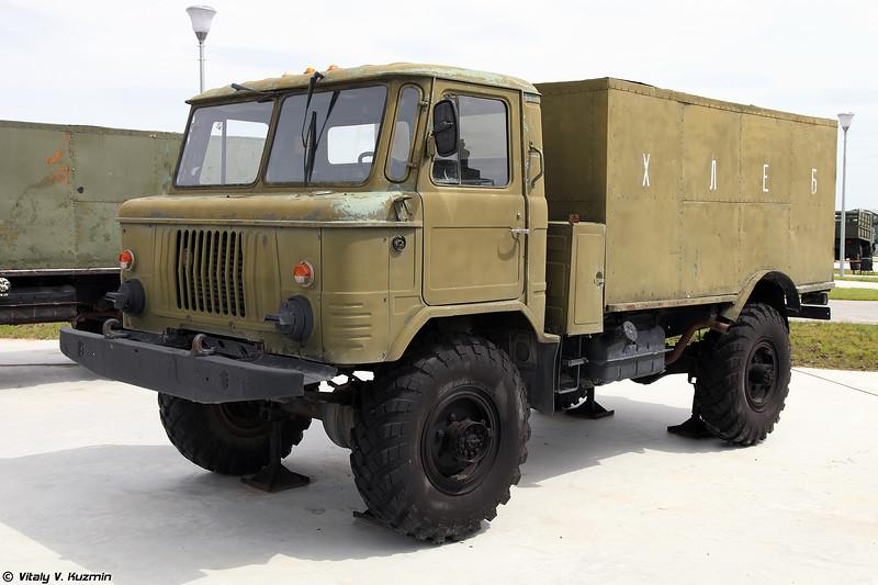 Автомобиль-фургон комбинированный АФК-66 (APhK-66 food supply vehicle)