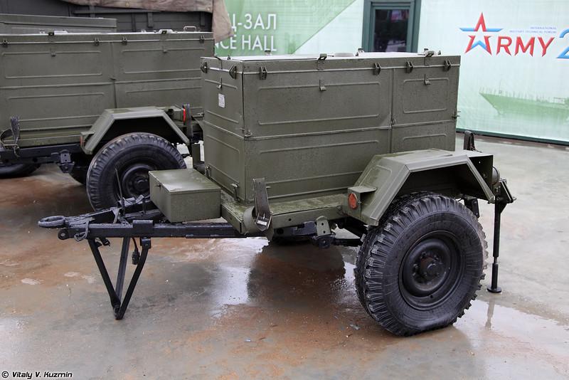Машина перекачки горючего МПГ-20 (MPG-20 fuel pumping device)