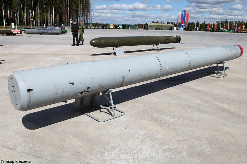 Противолодочная мина-ракета ПМР-2 (PMR-2 anti-submarine missile)