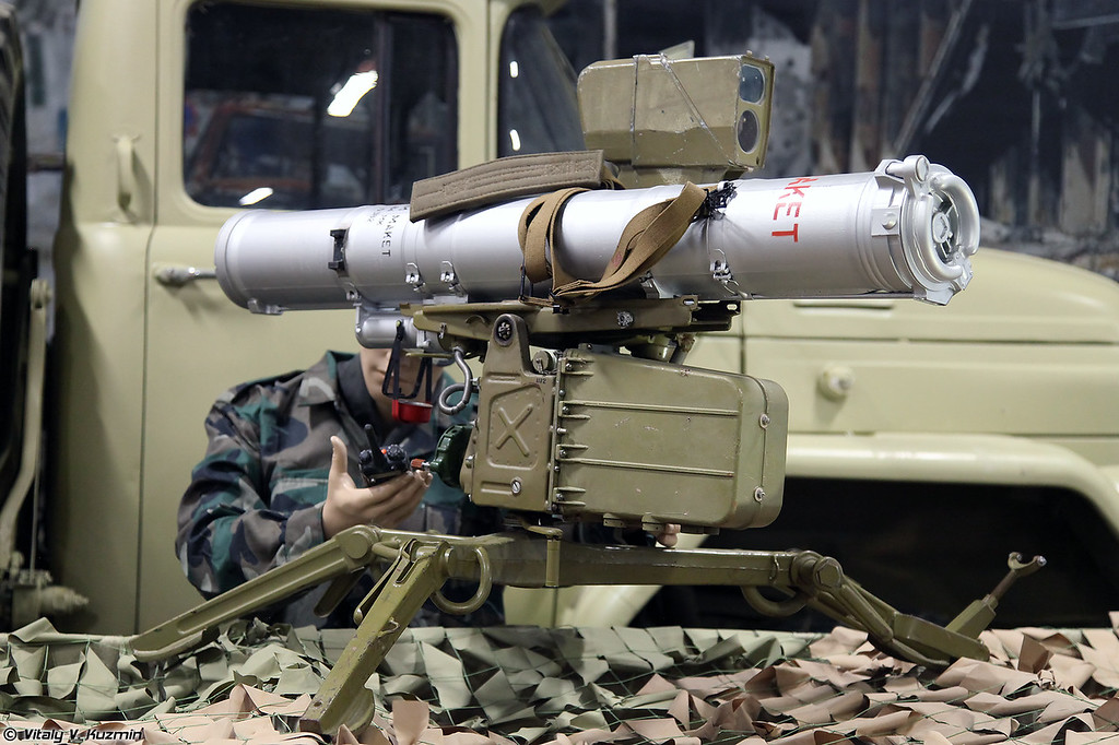ПТРК 9К111 Фагот с ракетой 9М111М (9K111 Fagot with 9M111M ATGM)