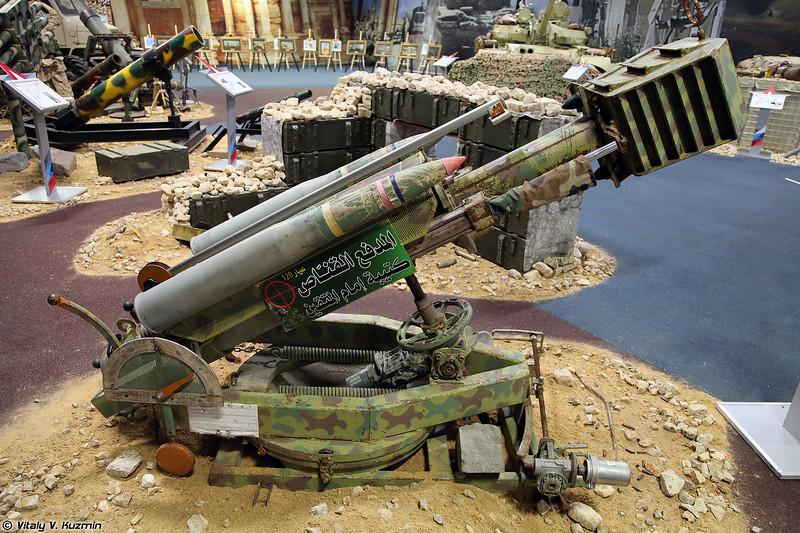 120-мм орудие кустарного производства (ISIS' 120mm scratch-built canon)