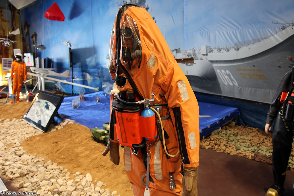 Спасательное снаряжение подводника ССП-М (SSP-M underwater rescue equipment)