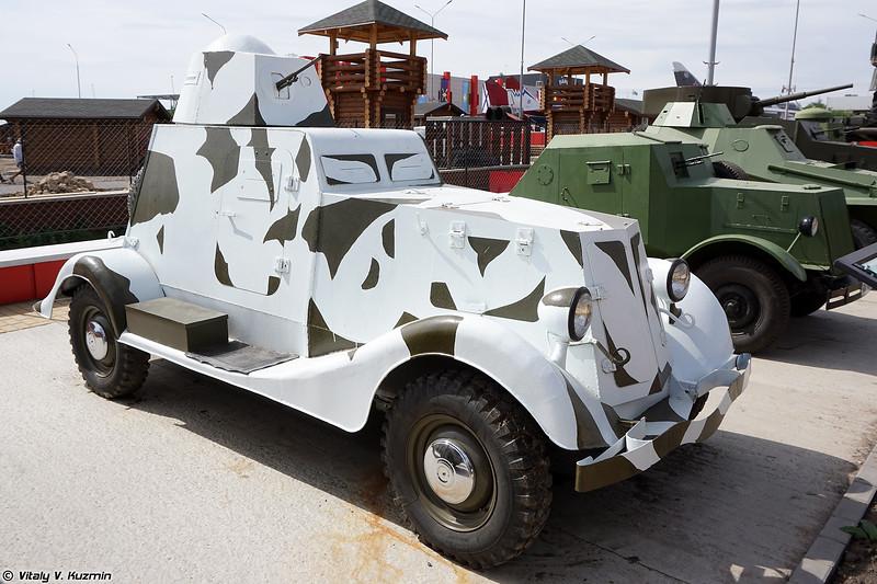 Макет бронеавтомобиля БА-20 (BA-20 Replica)