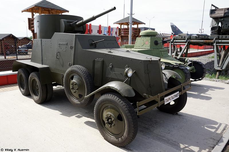 Макет бронеавтомобиля БА-3М (BA-3M Replica)