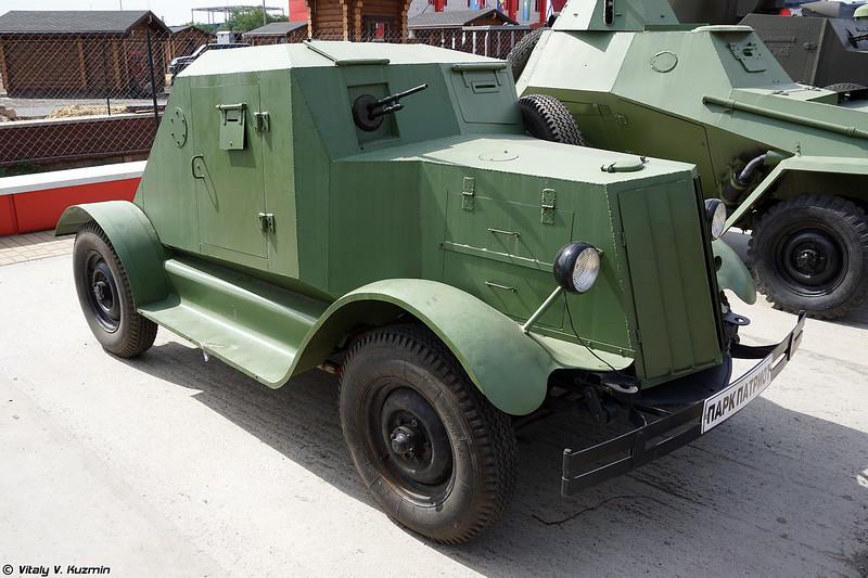 Макет бронеавтомобиля Д-8 (D-8 Replica)