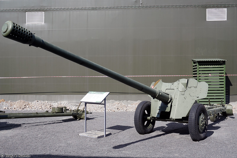 85-мм противотанковая пушка Д-48 (85mm anti-tank gun D-48)