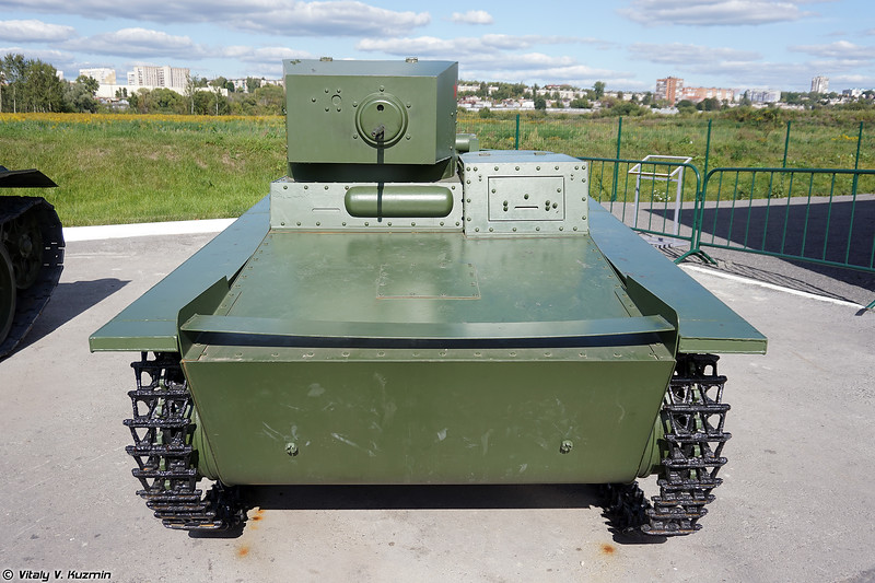 Весьма посредственный макет Т-37А (T-37A poor and cheap replica)