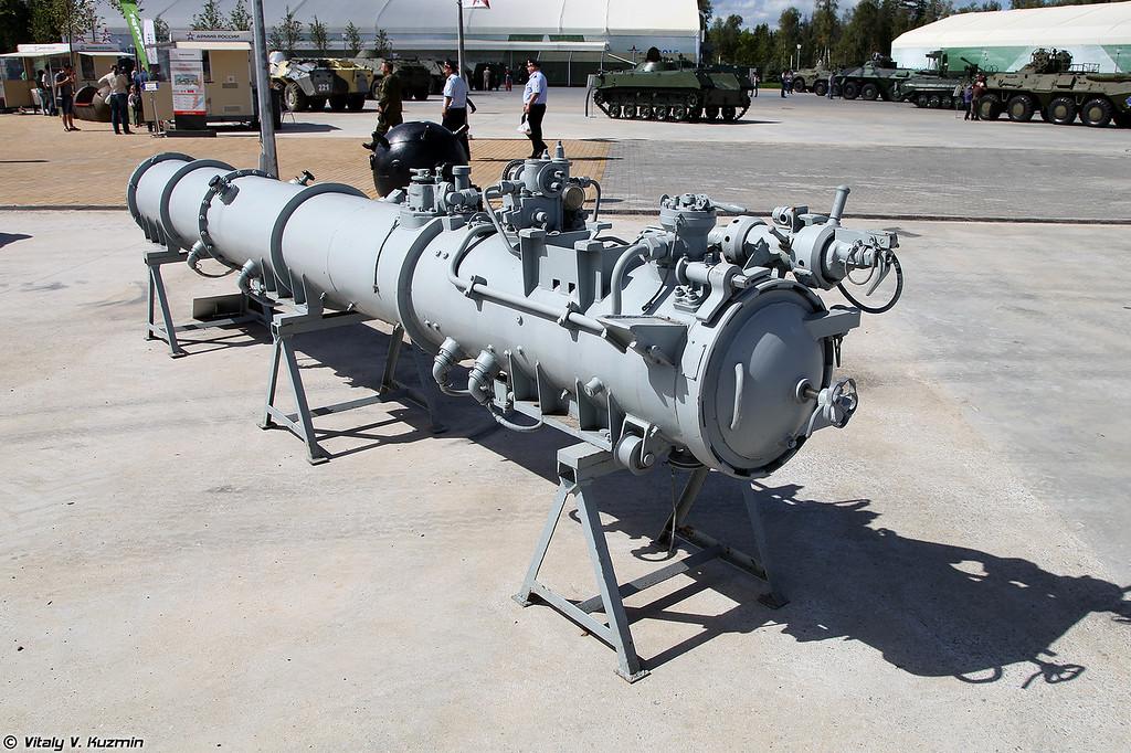 Торпедный аппарат ОТА-40 (OTA-40 torpedoes launcher)