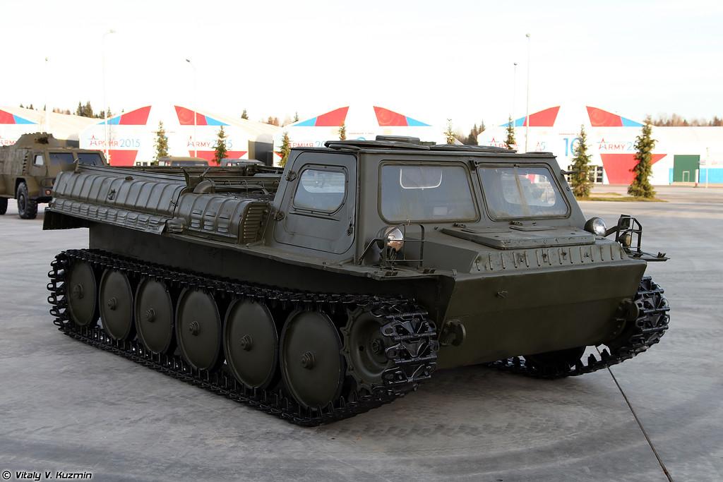 Транспортер ГТ-СМ ГАЗ-3403 (GT-SM GAZ-3403 transporter-tractor unit)