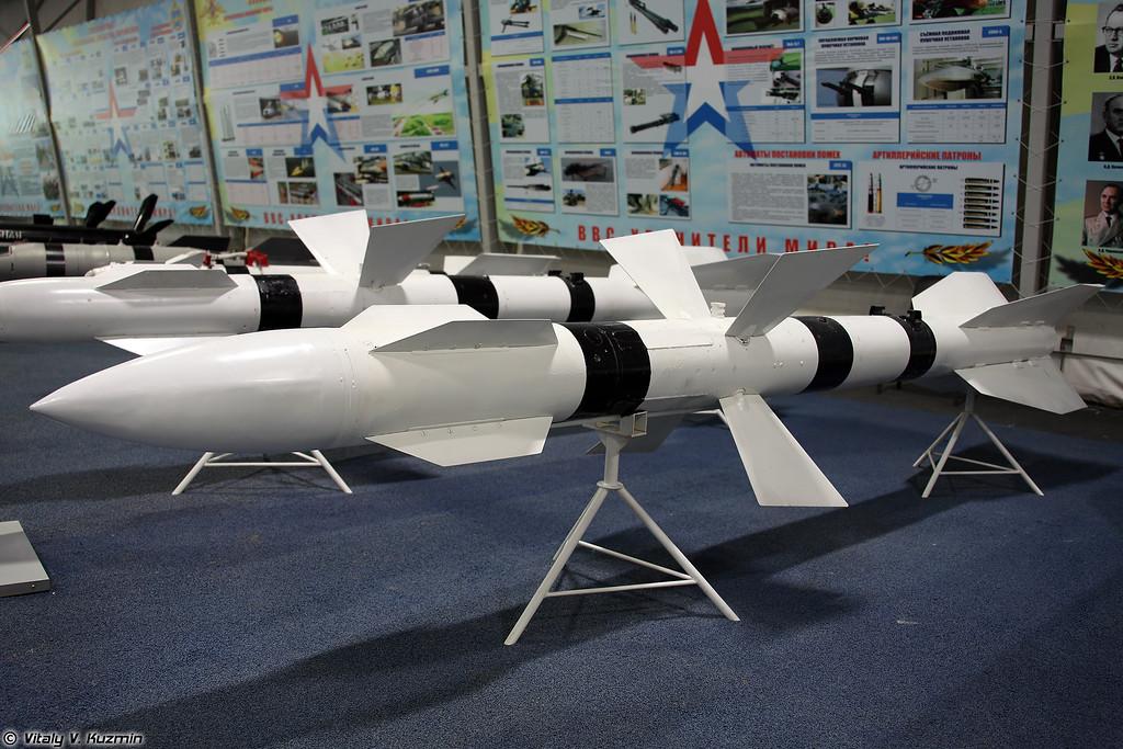 Авиационная управляемая ракета Р-27Р (R-27R medium-to-long-range air-to-air missile)