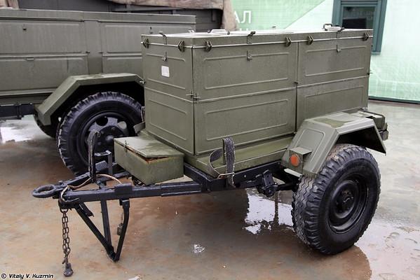 instalação Motonasosnaya IIUM-14 [MNUM-14 dispositivo de bombeamento de óleo)