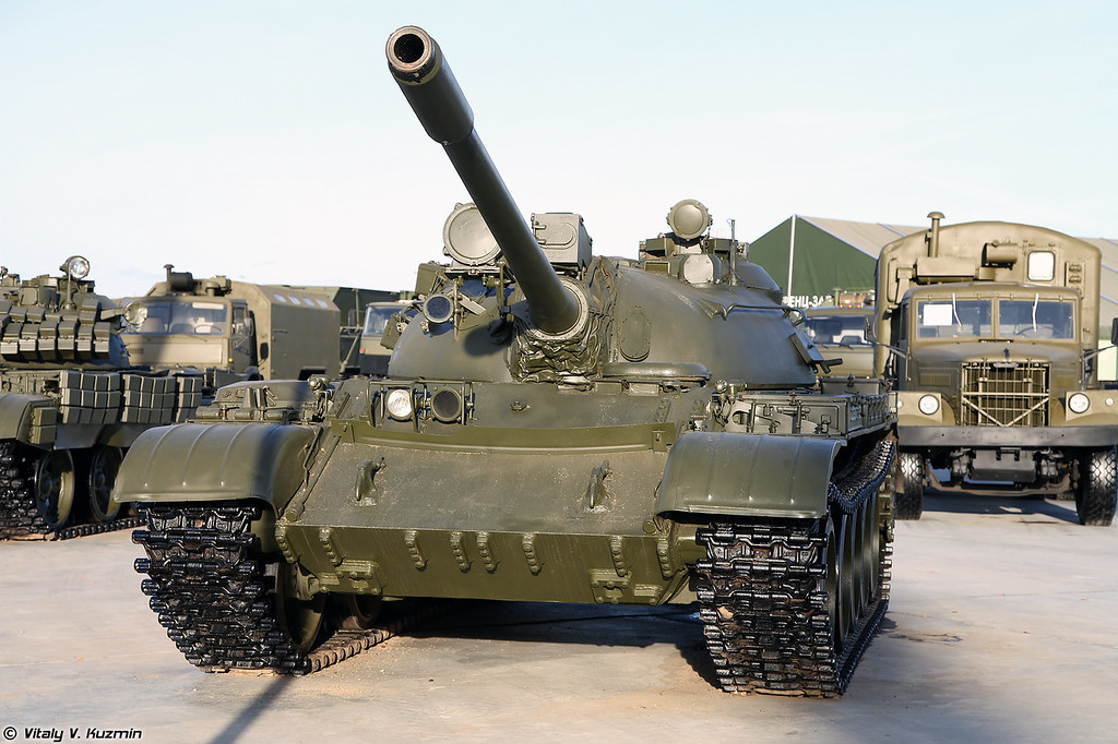 Т-55А с установленным дальномером (T-55A with rangefinder)