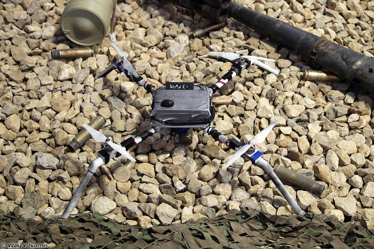 Компактные самодельные БПЛА (ISIS' scratch-built drones)