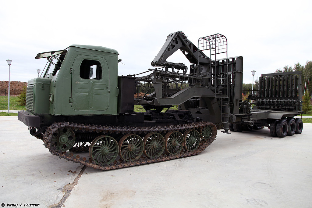 Трубоукладочная машина ТУМ-150 (TUM-150 pipelayer)