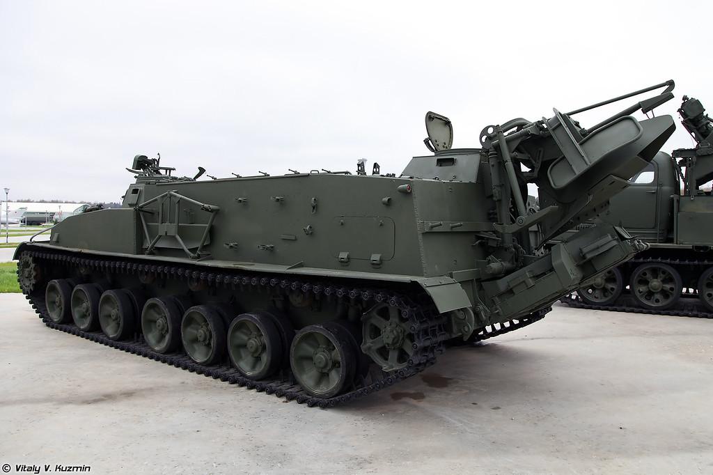 Гусеничный минный заградитель ГМЗ-2 (GMZ-2 minelayer)