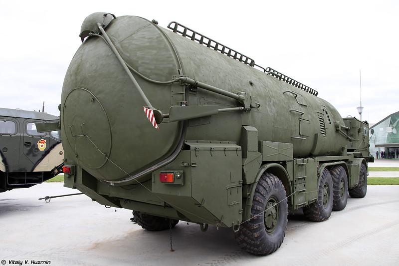 Самоходная пусковая установка СПУ-143 из состава беспилотного комплекса ВР-3 Рейс (SPU-143 launcher for VR-3 Reys UAV system)