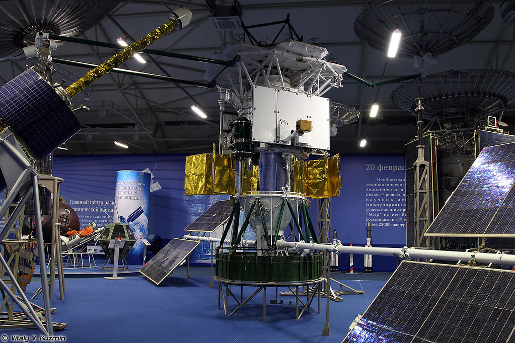 Космический аппарат Луч (Luch spacecraft)