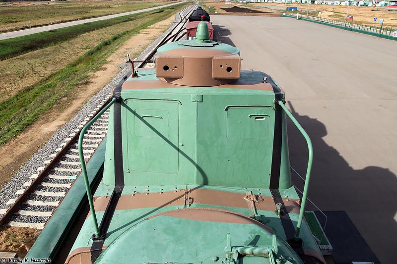 Моторный броневой вагон МБВ 2 (MBV-2 armored railcar)