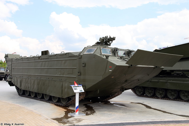 Транспортер ПТС-4 (PTS-4 amphibious transport)