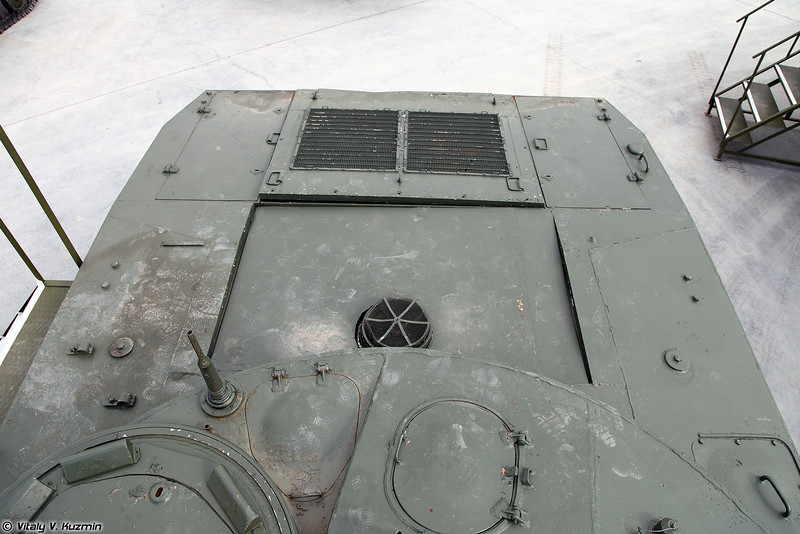 Опытный легкий плавающий танк Объект 685 (Experimental light amphibious tank Object 685)